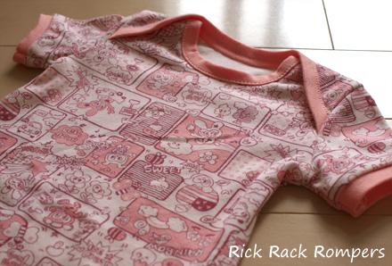 ベビーTシャツ(Rick Rack)